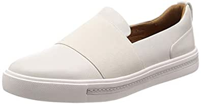 Clarks 中性 板鞋 261401704040 白色 37  Un Maui Step/优越毛伊便鞋