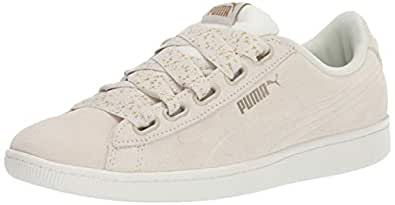 PUMA 女士 Vikky 丝带运动鞋 Whisper 白色 Whisper 白色 5.5