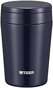 TIGER 虎牌 保溫瓶 真空隔熱 湯罐 保溫便當盒 380ml 廣口 圓底 靛藍色 MCL-B038-AI Tiger