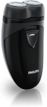 Philips 飞利浦 便携式剃须刀 男士电动剃须刀 干电池 黑色 PQ209 / 17