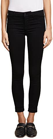 J Brand Jeans 女士 8020 Luxe Sateen Anja 翻边七分裤