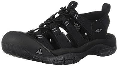 Keen Newport H2 男士涉水鞋 Black/Swirl Outsole 7 M US