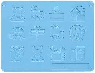 银鸟产业 GINPO 带按压型黏土板 水蓝色 NB-PUB