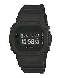 CASIO 卡西歐 男士G-Shock數字樹脂表帶手表DW-5600BB-1ER