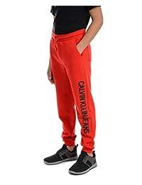 Calvin Klein 男童标志腰带慢跑裤