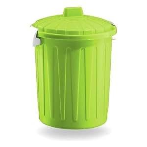 Blim 圆形垃圾桶带盖子 绿色 One Size Blim_BD001-L00800-224