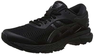 ASICS 亚瑟士 女 跑步鞋 GEL-KAYANO 25 1012A026-002 黑色/黑色 37.5