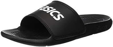 ASICS 中性款成人 As003 沙滩泳池鞋 Black (Black/Black 9090) 9 UK