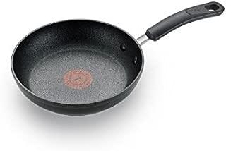 T-fal C5610264 鈦高級不粘鍋溫點溫度指示器洗碗機*炊具煎鍋,20.32cm,黑色