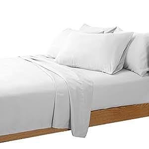 6件装丝滑柔软奢华舒适床单套装