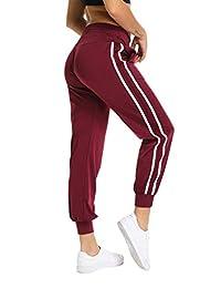 SEASUM 女士瑜伽裤心形拼接紧身裤高腰紧身裤运动健身健身裤