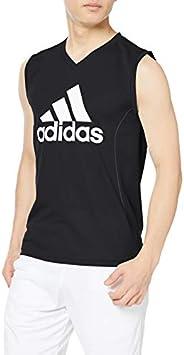 adidas 阿迪达斯 无袖大商标 V领无袖衫 男士 APC418A