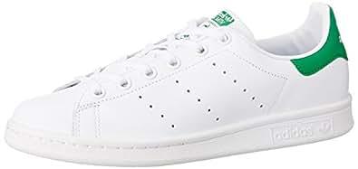 adidas Originals kids 阿迪达斯三叶草 ORIGINALS KIDS 男童 休闲运动鞋STAN SMITH J  M20605 白/白/骑士绿 内长:215mm (UK 3)