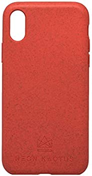 Neon Kactus 环保 iPhone X 手机壳 珊瑚色