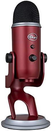 Blue Microphones Yeti USB-Mikrofon für Aufnahme und Streaming auf PC und Mac, Game-Streaming, Skype-Anrufe, Yo