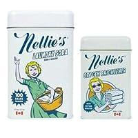Nellie's Perfect 起动器套装,满足您的所有洗衣需求 Laundry Soda+Brightener NLS 100T plus NOX ET