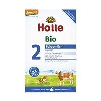 Holle 泓乐 婴儿2段后续奶粉, 1盒装 (1 x 600 g)