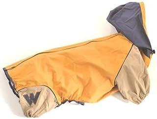 WHCY 宠物用品 狗服装 雨衣 J外套B 0091W106 芥末黄 M 尺寸