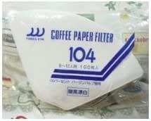 三洋工业咖啡滤纸 白色 8~12人用 NO-104-100