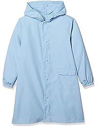 [Akahusuk] 儿童 背包&双肩包 雨衣 素色 萨克斯蓝 儿童 双肩包 日本 130cm (相当于日本尺寸130)
