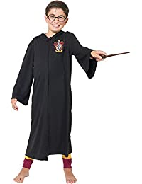 Harry Potter Gryffindor Big Boys' Magicians Cloak French Costume Terry Robe