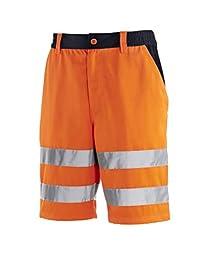 teXXor 4345-44 警示短裤,Warnorange/*蓝,尺码 44