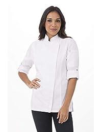 Chef Works 女式 Hartford 厨师大衣