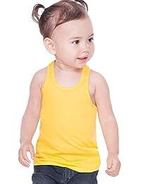 Kavio! Unisex Infants Sheer Jersey Racer Back Tank