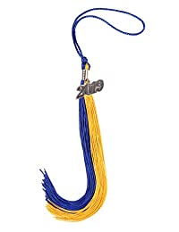 GradPlaza 毕业流苏带银色或金色 2017 年魅力双色