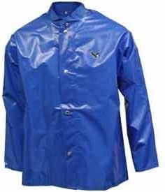 IRON EAGLE J22201.XL 5 Nickel Brass Jacket with Hood Snaps, X-Large, Blue