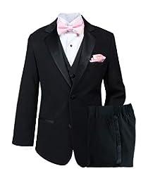 Spring Notion 大男孩燕尾服套装带蝴蝶结和手帕