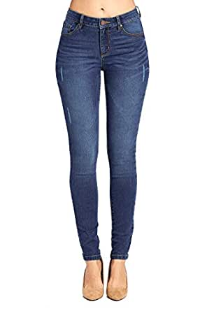 Blue Age 女式提臀紧身牛仔裤 Jp1064_medium Wash 5