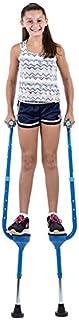 Flybar Maverick Walking Stilts 适合儿童(小号)- 可调节高度 - 适合 5 岁及以上儿童,体重不超过 190 磅
