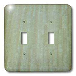 3dRose lsp_35402_2 Green Peach Colorwash Double Toggle Switch