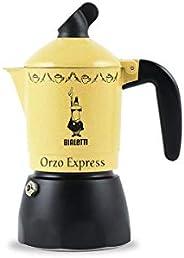 Bialetti\ Musa Satinata Espresso 咖啡机,适用于 2 杯,不锈钢,银色,30 x 20 x 15 cm