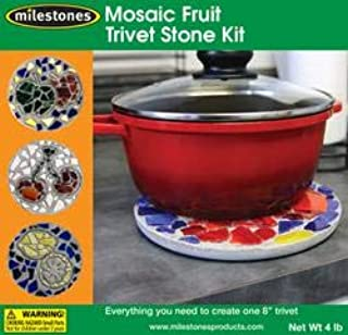 Midwest Products 90115216 Trivet Kit-Mosaic 水果,
