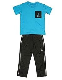Jordan Air 男童上衣口袋运动衫和裤子套装