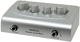 WINTECH 小型彩色擦拭机 卡拉OK 混音 环保 音调 双重 CKM-1