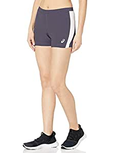 ASICS 女士 Chaser 短裤 钢灰色/白色 X大码