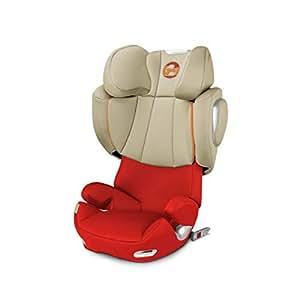 (跨境自营)(包税) CYBEX 赛百斯 德国儿童安全座椅 Solution Q3-fix 3-12岁 秋叶金