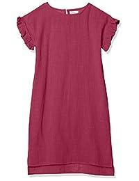 PALEMANON单层纱布 褶边 袖 短袖 夏季连衣裙 女童 MN0SSOP205