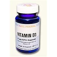 Gall Pharma Vitamin D3 5 Mikrogramm GPH Kapseln, 60 Stück, 1er Pack (1 x 60 Stück)
