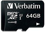 三菱化学媒体 Verbatim microSDXC卡MXCN64GJVZ2 64GB