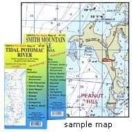 GMCO 10600 Kerr Reservoir Char、Buggs Island Lake、Virginia 和 North Carolina