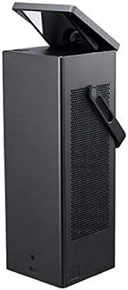 LG 投影仪 HU80KS 至 381 厘米(150 英寸)CineBeam 激光 4K UHD 投影仪(2500 流明,HDR10,智能功能,激光 20000)黑色