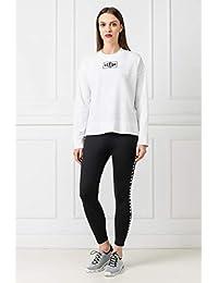 DKNY 女式 运动梭织长裤 DP9P1808-BLACK 黑色