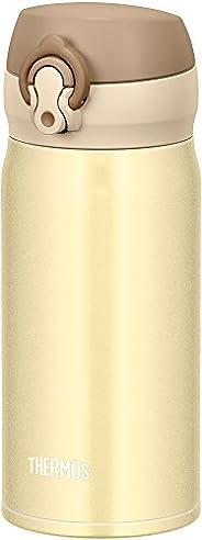 膳魔師 水杯 真空隔熱便攜馬克杯 【一觸即開式】 0.35L クリーミーゴールド 0.35L JNL-353 CRG