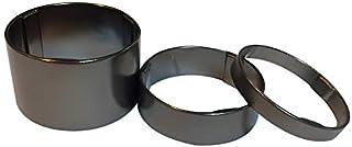 Avedio 轻量铝制垫片 5mm、10mm、20mm 灰色 各1枚 70589