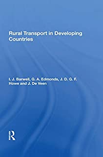 Rural Transport In Developing Countries (English Edition)