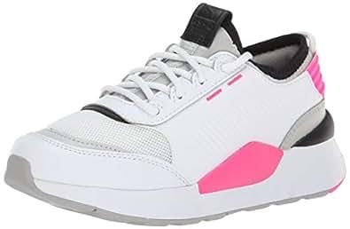 PUMA 彪马儿童 Rs-0 声音运动鞋, Puma White-gray Violet-puma White 4 M US 儿童